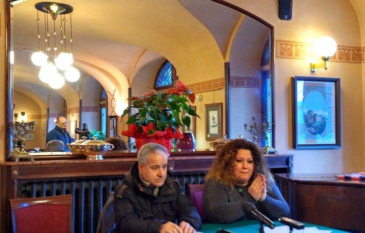 Vincenzo Furfaro, a fianco dell'avvocato Marrapodi.