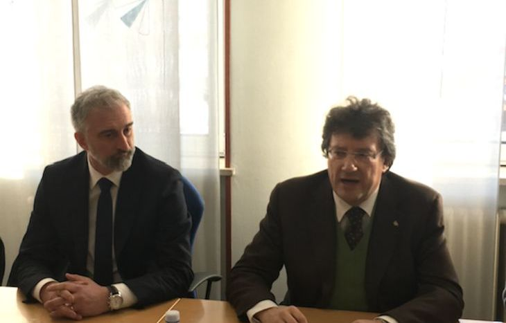Luca Zuccalà e Aurelio Marguerettaz