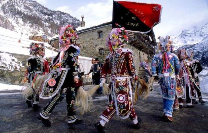 Il Carnevale storico della Coumba Frèide