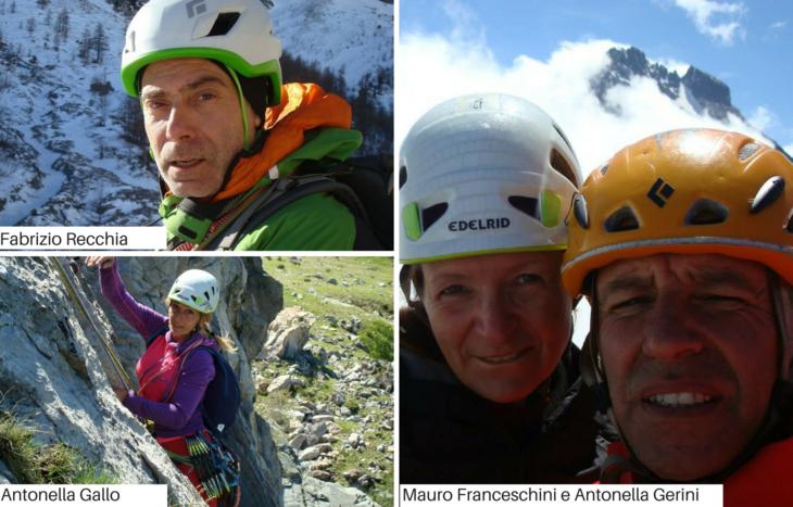 Fabrizio Recchia, Antonella Gallo, Antonella Gerini e Mauro Franceschini