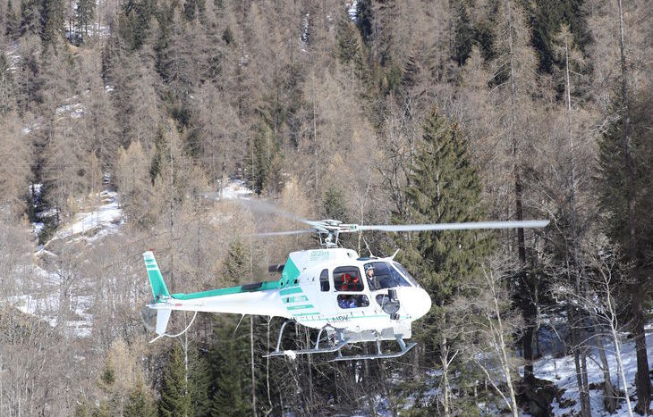 tragedia cascata Gressoney-Saint-Jean, elisoccorso