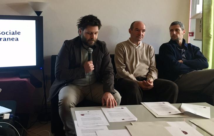 Alessio Zemoz, Giancarlo Civiero e Enrico Montrosset