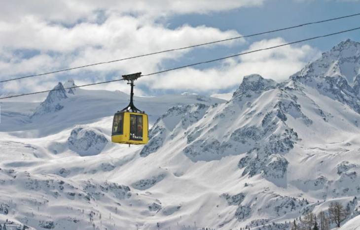Ski sauna La Thuile