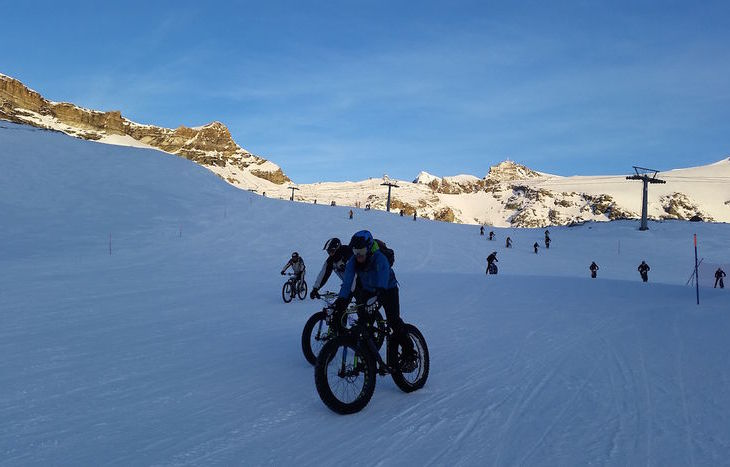 1º RADUNO SNOW-BIKE DEL CERVINO