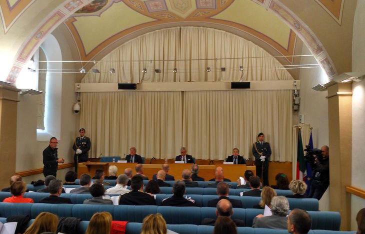 La cerimonia d'inaugurazione dell'anno giudiziario tributario 2017.