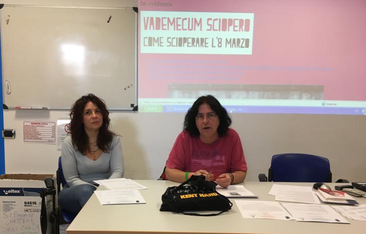 Da sx Jeanne Cheillon e Viviana Rosi
