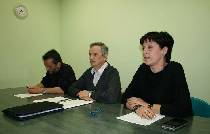 Igor De Belli, Natale Dodaro, Barbara Abran, sindacati