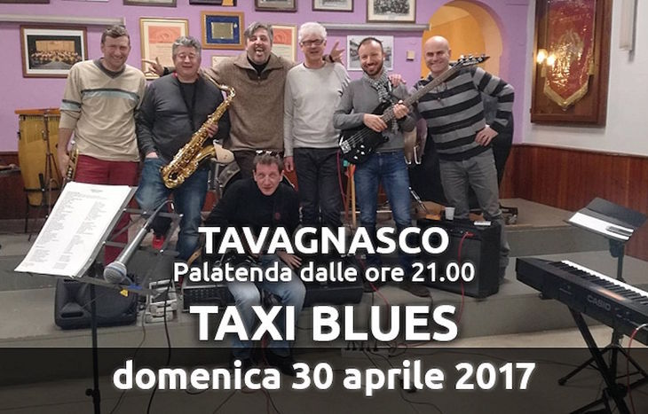 I Taxi Blues a Tavagnasco Rock