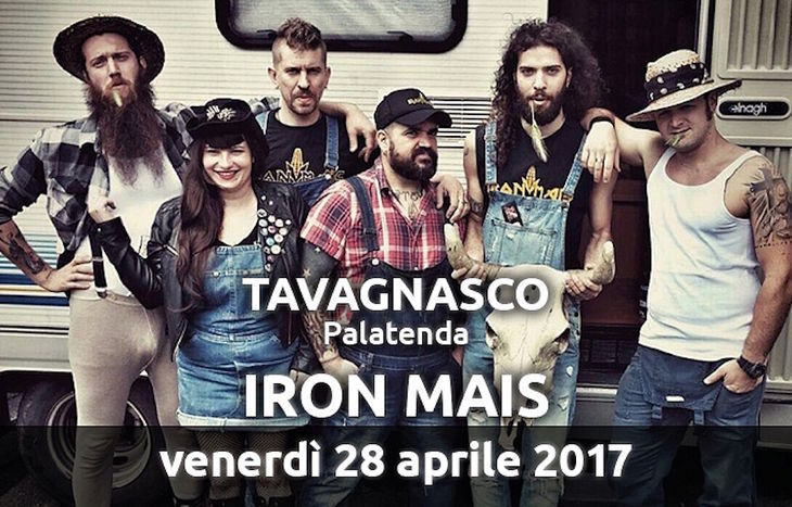 Iron Mais a Tavagnasco Rock