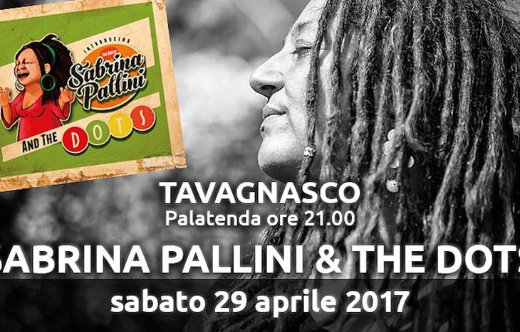 Sabrina Pallini & The Dots a Tavagnasco Rock