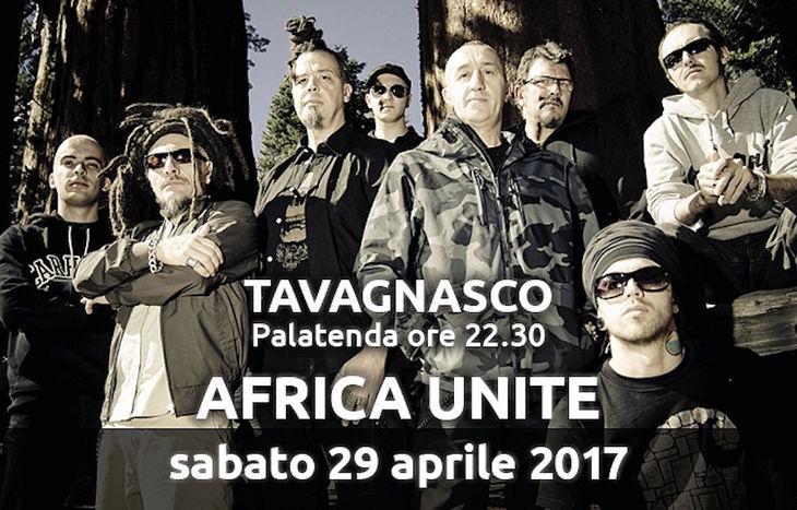 Africa Unite a Tavagnasco Rock