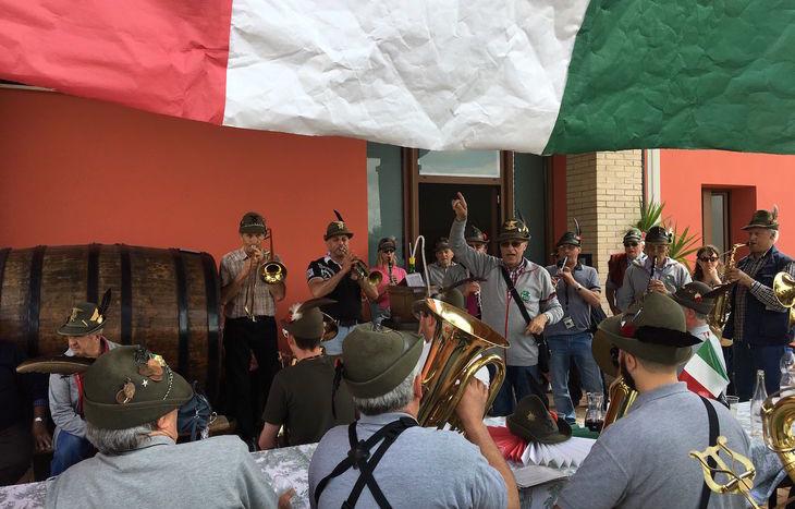 L'adunata degli alpini a Treviso