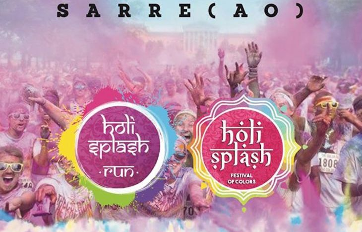 Holi Splash Run Sarre