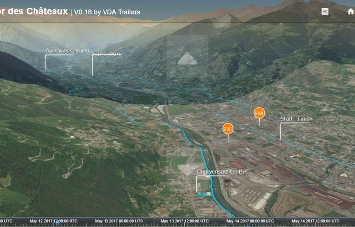 live tracking gps, tor des chateaux