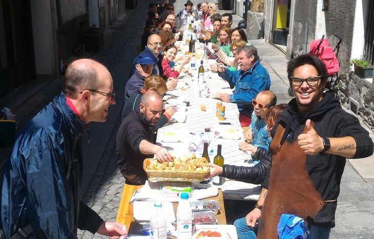 I volontari della Corvée di via Martinet