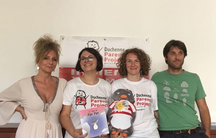 Da sx: Paola Corti, Elena Poletto, Manuela Monticone e Hervé Stevenin