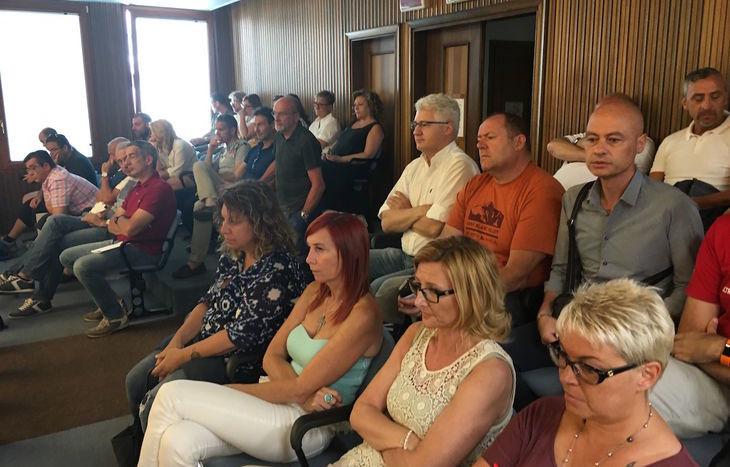 Casinò, i lavoratori in tribuna assistono all'audizione della IV Commissione