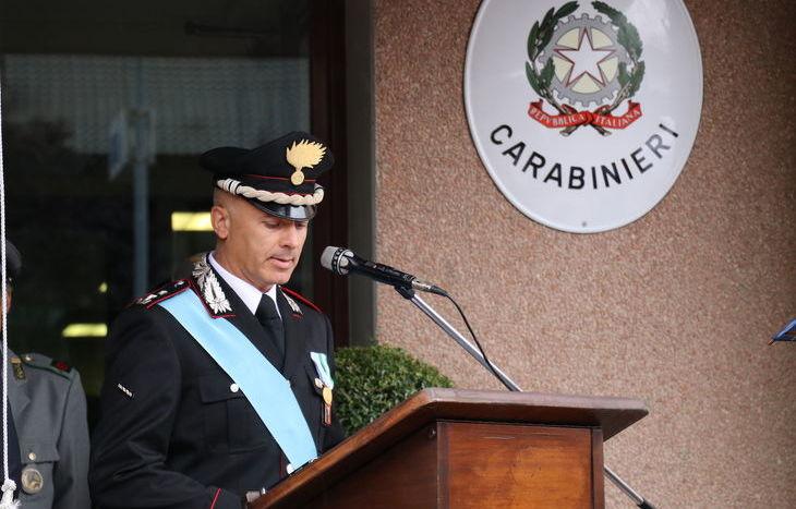 Il comandante del Gruppo Aosta, Emanuele Caminada.