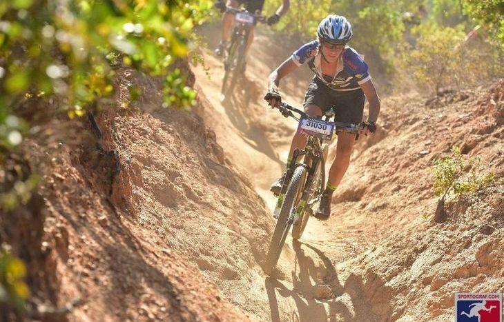 Evi Garbolino, mountain bike