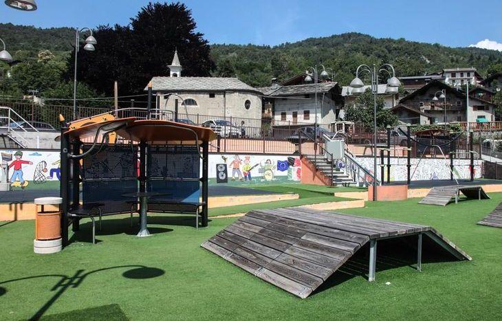 parco giochi Challand Saint-Victor