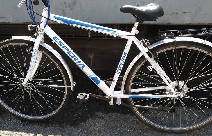 La bici recuperata dalla polizia e ancora senza proprietario