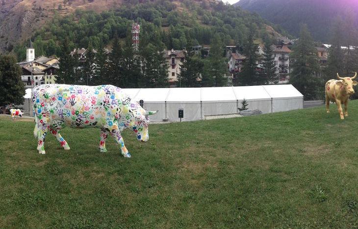 Fiera del bestiame a La Thuile