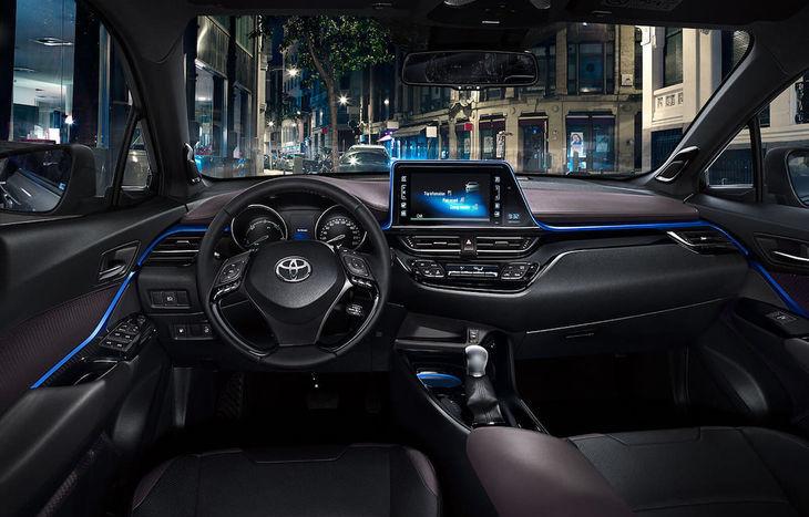 La Toyota C-HR