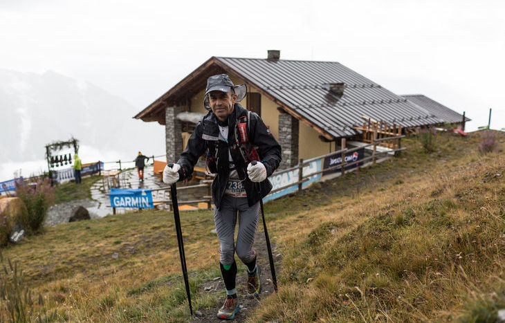 Cesare Clap al Col Champillon - Foto Roux