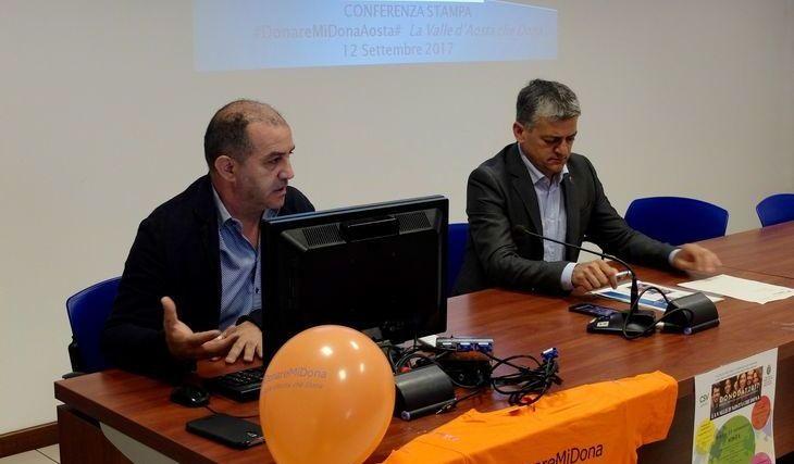 Claudio Latino e Luigi Bertschy