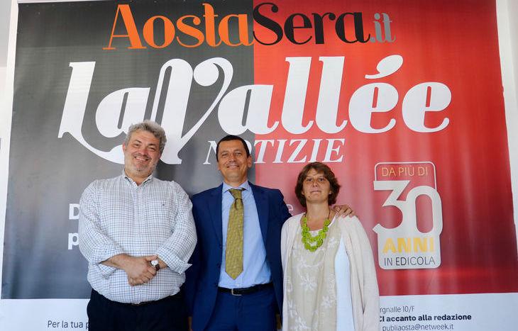 Paolo Maccari, Michel Henry e Nathalie Grange