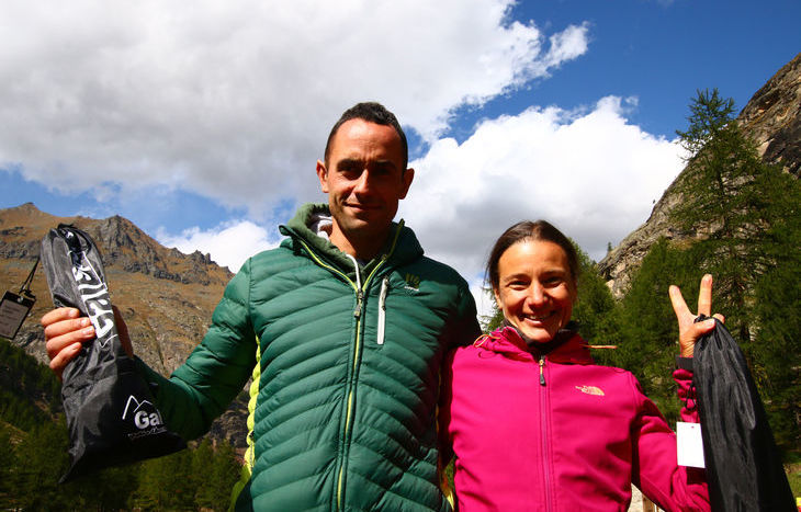 Daniel Yeuilla e Chantal Vallet