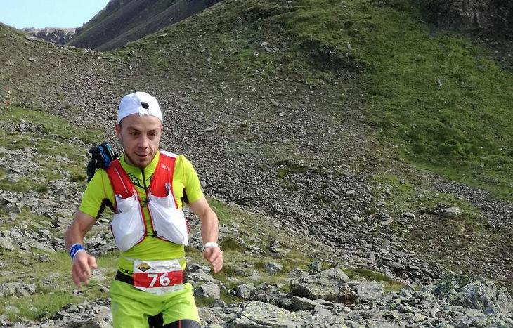 Marco Vuillermoz alla Ultramarathon du Fallère