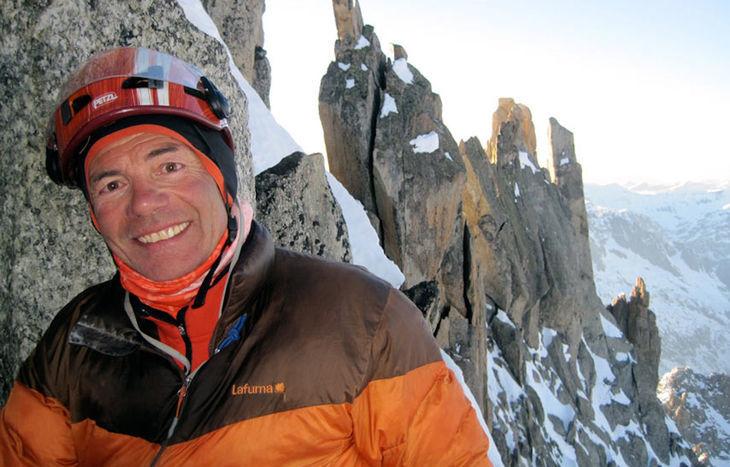 L'alpinista e guida francese Patrick Gabarrou.