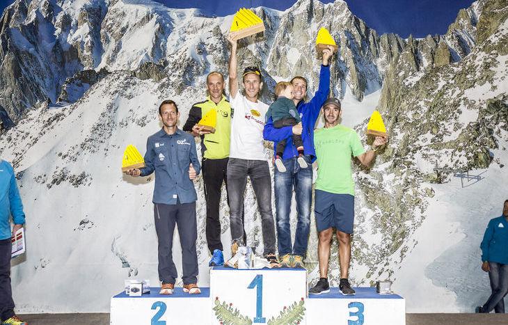 Premiazioni Tor des Géants 2017 - Podio maschile
