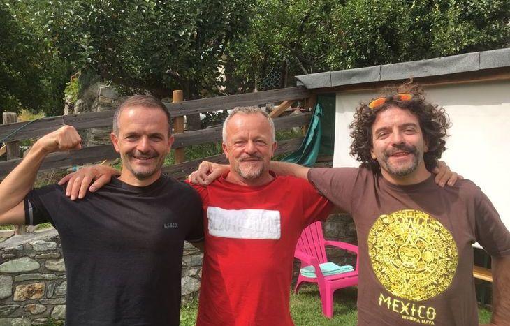 Christian, Robert e Raoul Cavorsin