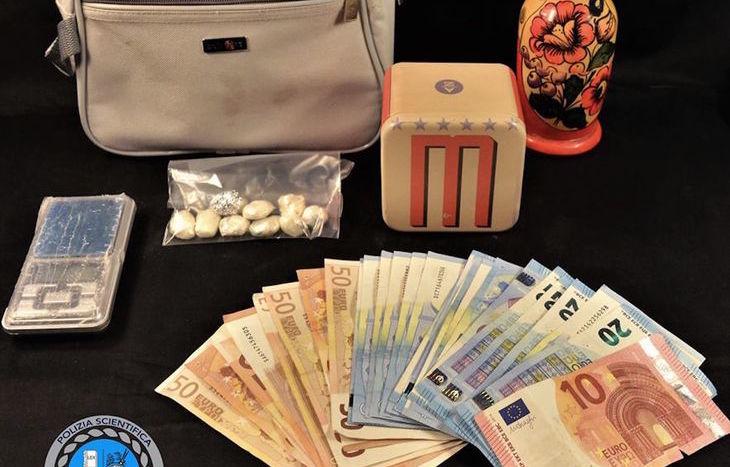 La cocaina sequestrata al rumeno