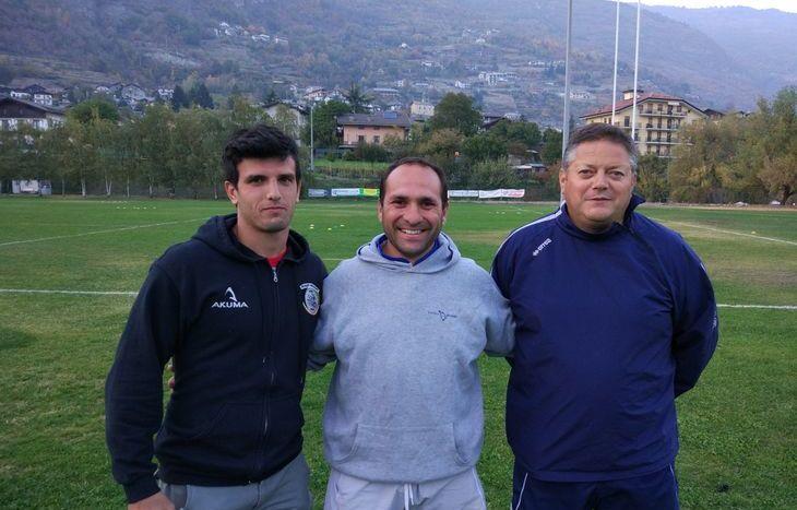 Giuseppe Valenti, Francesco Fida, Fabio Chiesa, rugby