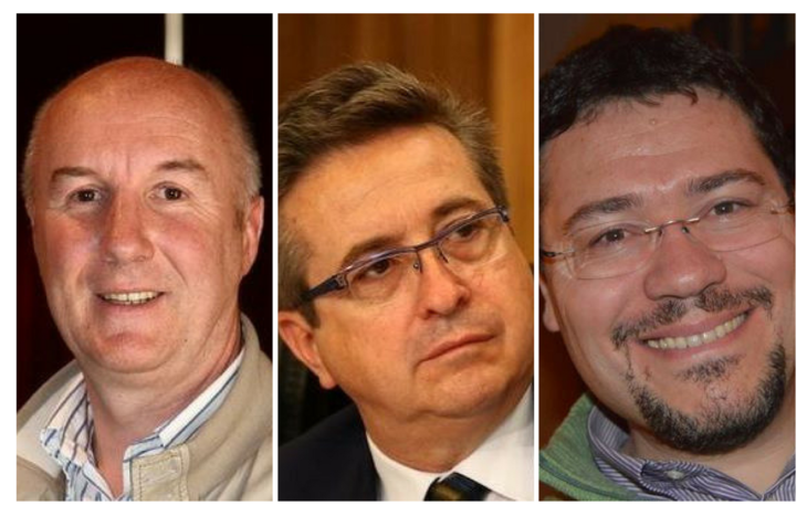 Pierluigi Marquis, Marco Vierin e Donatello Trevisan