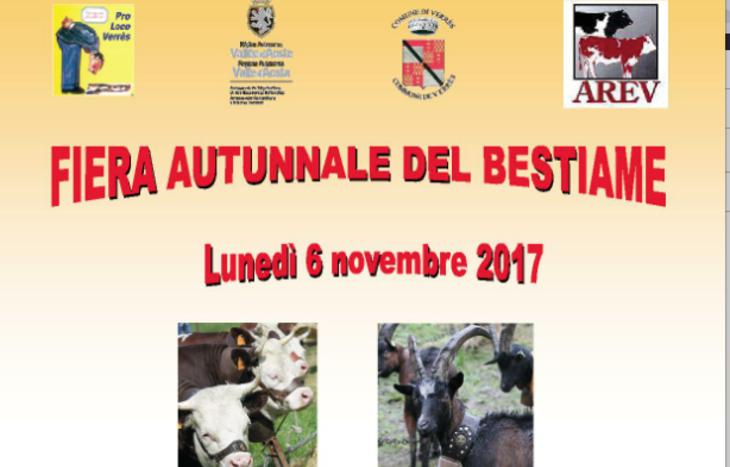 Verrès - fiera autunnale del Bestiame