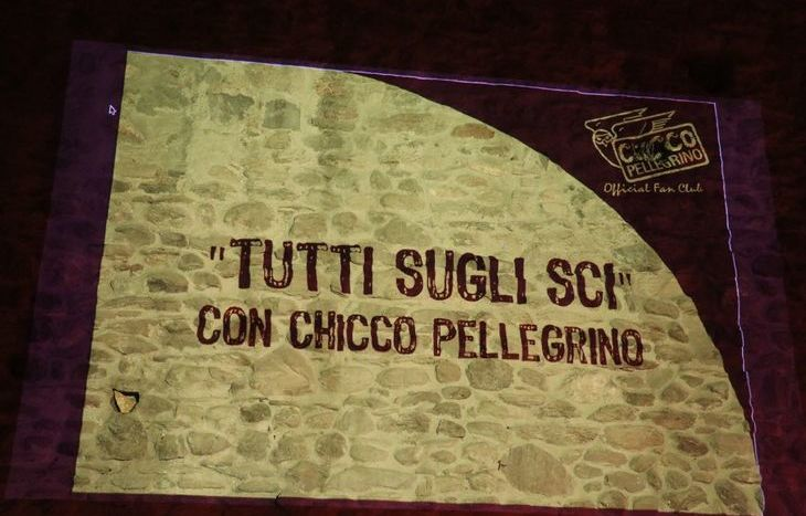La festa per Federico Pellegrino al Castello di Pilato a Nus