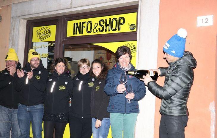 L'inaugurazione dell'Info&Shop del Chicco Pellegrino Official Fan Club