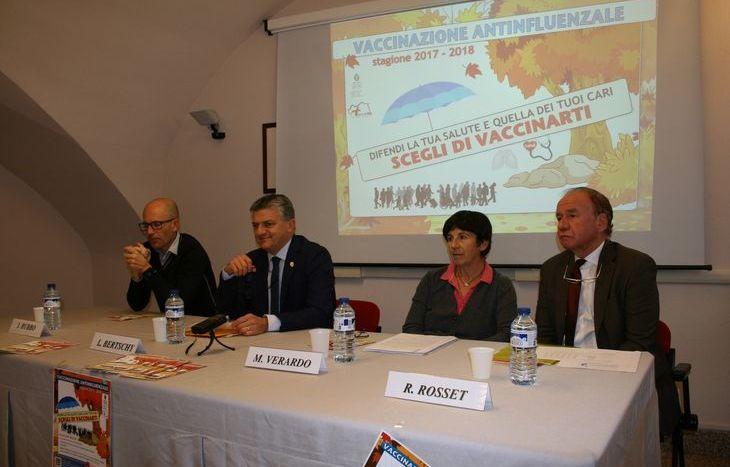 Igo Rubbo, Luigi Bertschy, Marina Verardo, Roberto Rosset