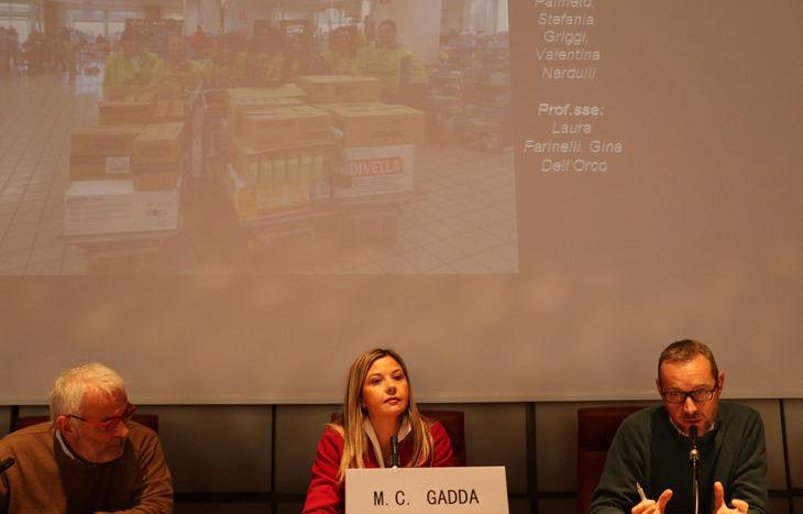 Da sx: MArco Lucchini, Maria Chiara Gadda e Fabio Molino