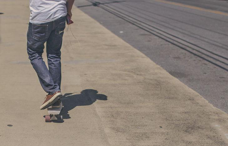 adolescenti, teenager, skate