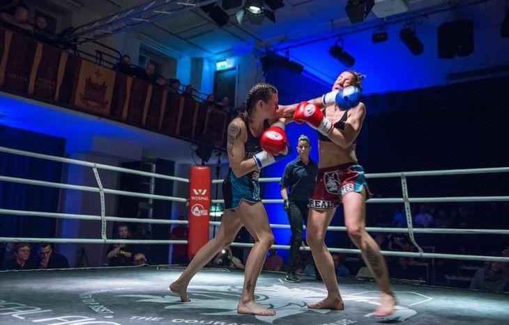 Martine Michieletto sul ring di Lund