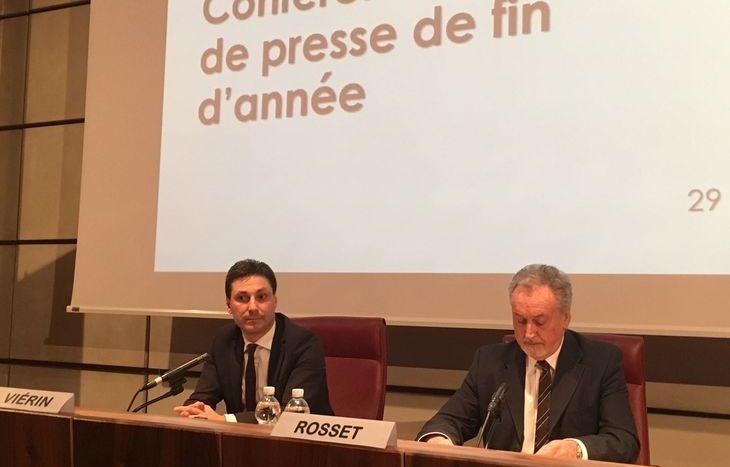 Laurent Viérin e Andrea Rosset