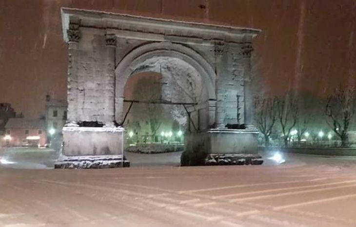 Nevicata 8 dicembre 2017 - Foto di Dario Vuillermoz