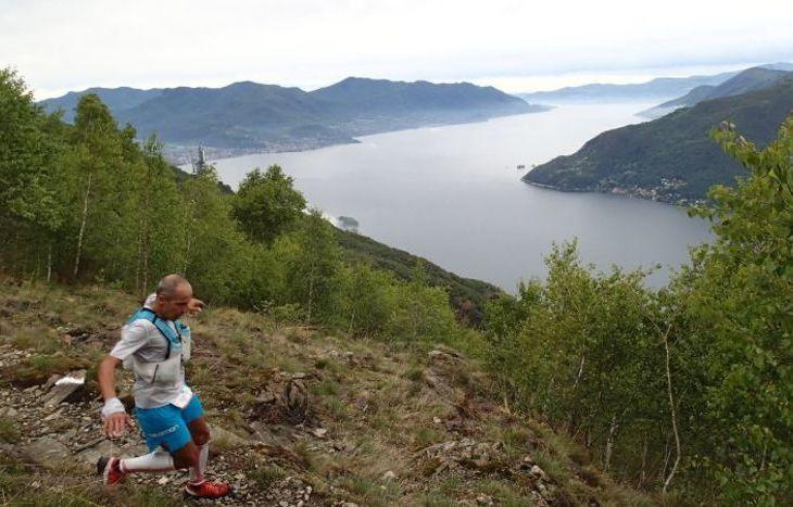 Giuliano Cavallo al Lago Maggiore Trail