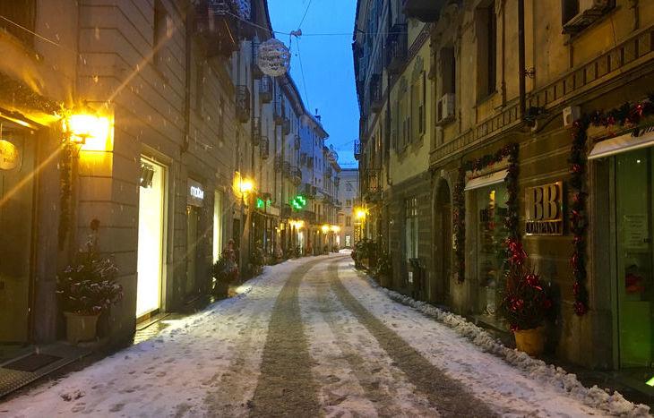 Neve ad Aosta