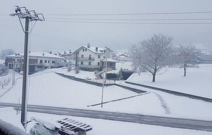 Nevicata 8 dicembre 2017 - Maria Arya Lanciano Jovençan